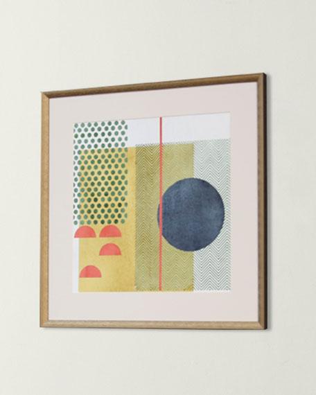 """Soleil Rouge IV"" Art Print"