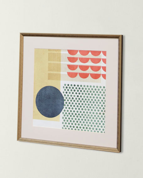 """Soleil Rouge VI"" Art Print"