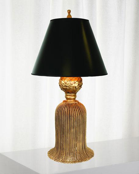 Twisted Tassel Iron Table Lamp