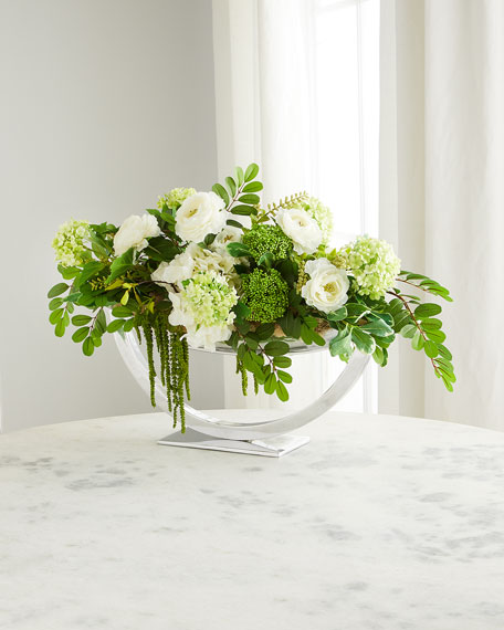John-Richard Collection Vienna Floral Arrangement