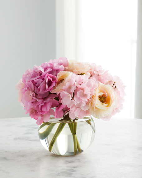Blushing Pink Floral Arrangement