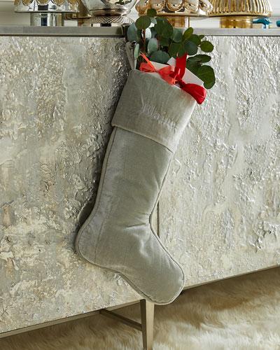 23 Velvet Stocking  Celedon