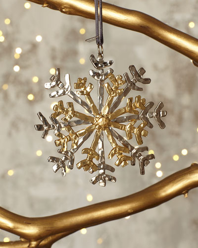 Forged Snowflake Ornament