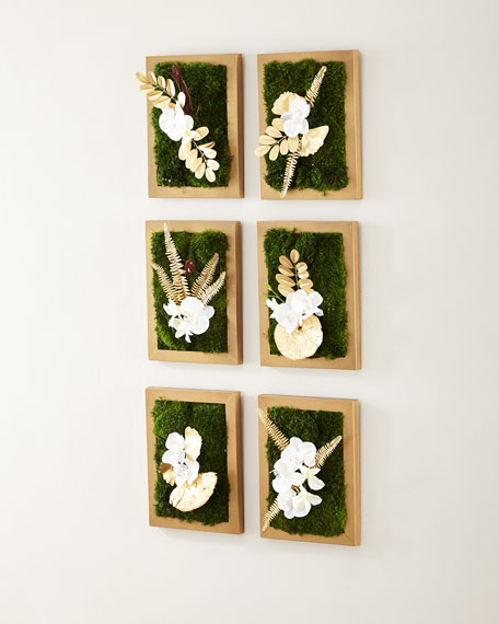Moss Collage Wall Decor