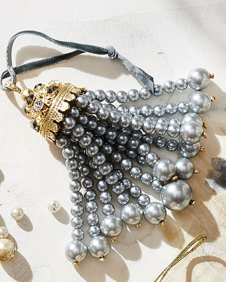 Hanging Pearly Tassel Ornament