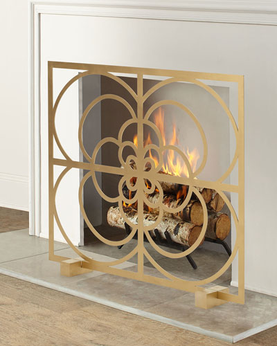 Medallion Fireplace Screen