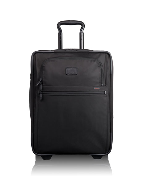 Alpha 2 Black International Expandable Two-Wheeled Carry-On