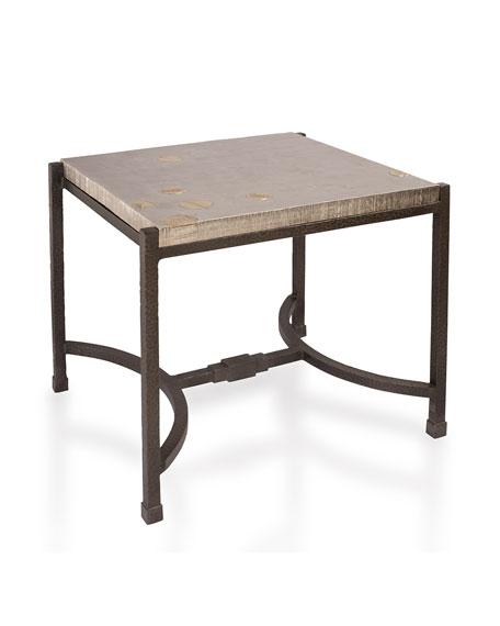 Michael Aram Fallen Leaves Side Table