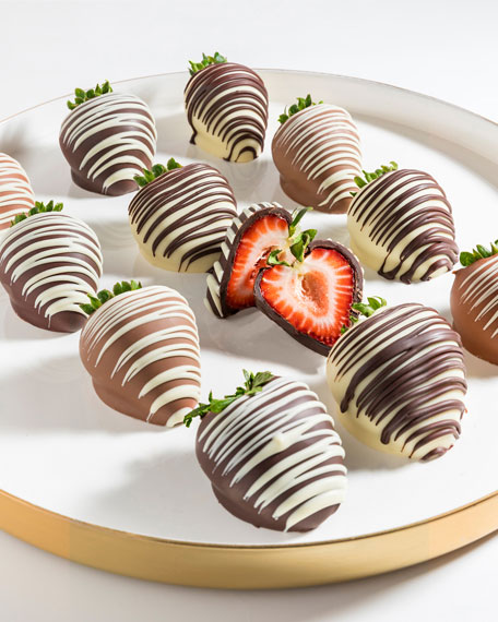 Chocolate Covered Company Chocolate Strawberries with Drizzles