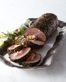 Italian Stuffed Tenderloin