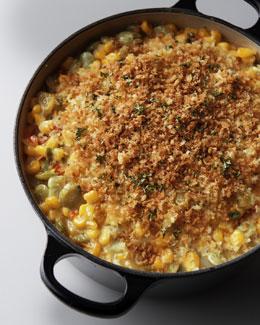Lima Bean & Corn Casserole