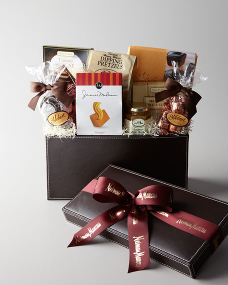 Faux Leather Gift Box