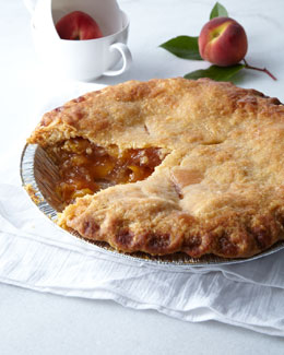 Tootie's Peach Pie