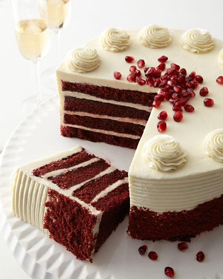 Frosted Art Bakery Red Velvet Cake, For 12-20