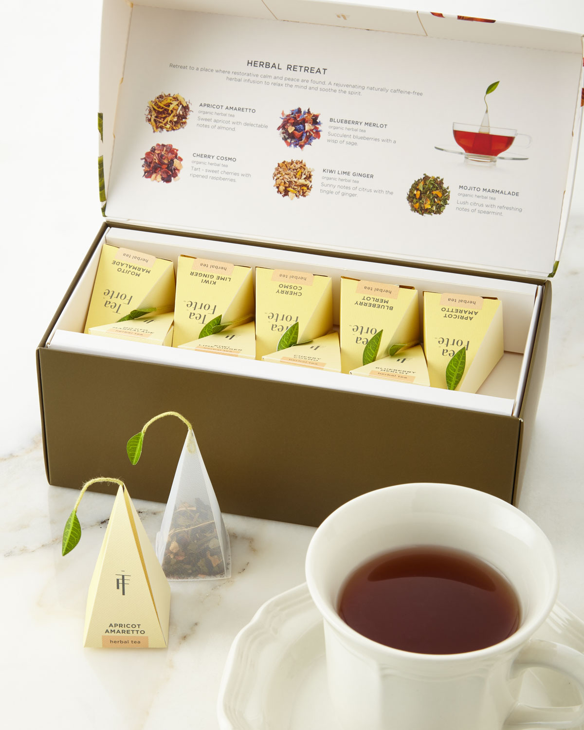 Herbal tea retreat gift box