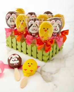 Bunny & Chick Praline Pops