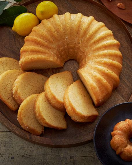 Lemon Vodka Liqueur Cake