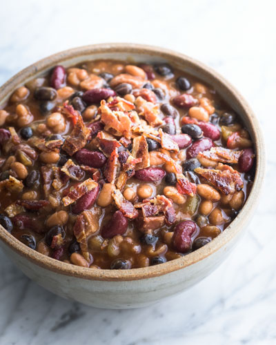 Baked Bean Medley  For 8-10 People