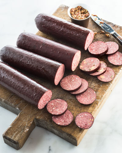 Summer Sausage Sampler  For 24 People