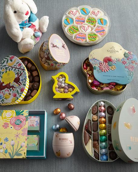 Easter Bunny Shortbread Cookies