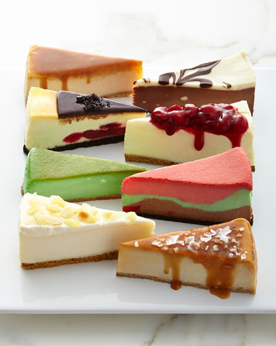 16-Slice Cheesecake Sampler