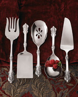 "Wallace ""Grand Baroque"" Sterling Silver Servers"