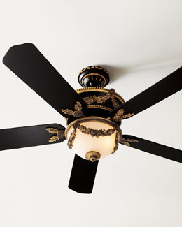 ELLINGTON/LITEX Baroque Ceiling Fan