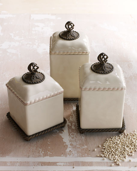 Barcelona Spice Jar Set & Tray