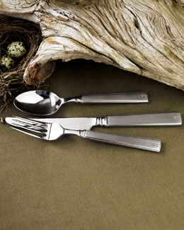 "Lauren Ralph Lauren Five-Piece ""Normandy"" Flatware Place Setting"