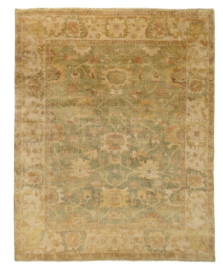 Vegetable Vine Rug, 10' x 14'