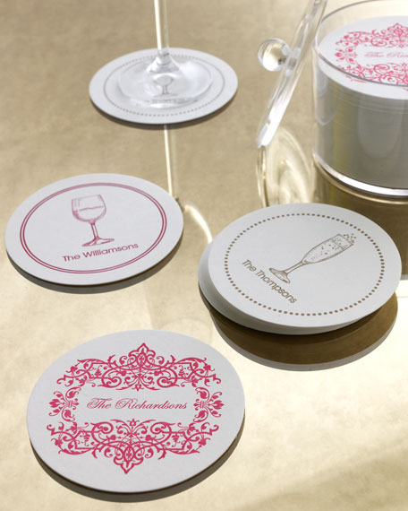 Filigree Border Coasters
