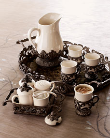G G Collection Tray, Hostess Set, Pitcher