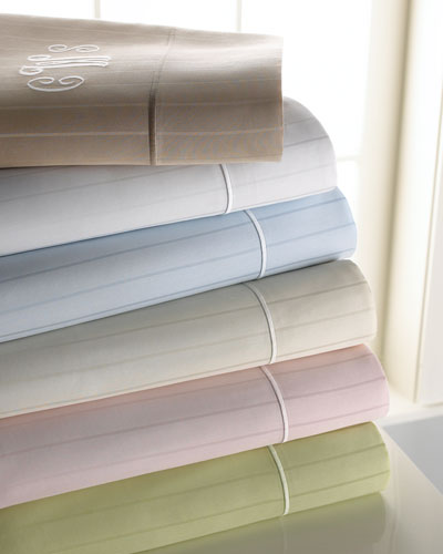 Twin Marcus Collection 400TC Striped Sheet Set