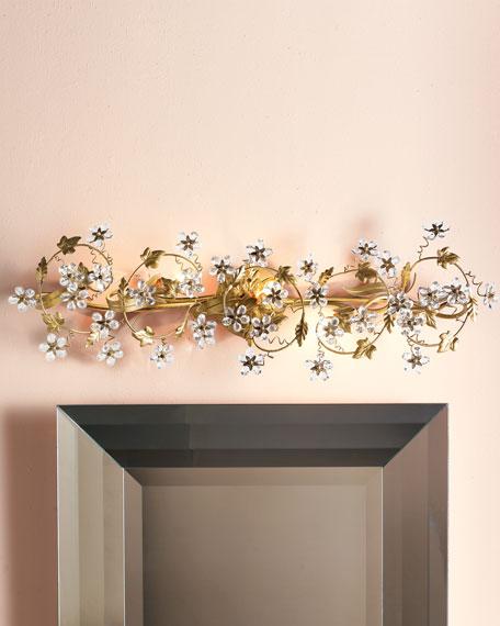 5-Light Floral Fixture