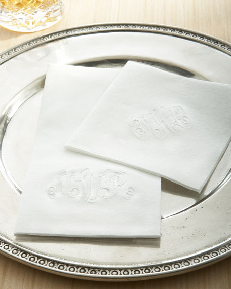 75 EMBOSSED NAPKINS/MONO