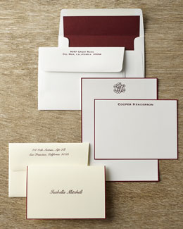 Rytex Company Hand-Bordered Stationery