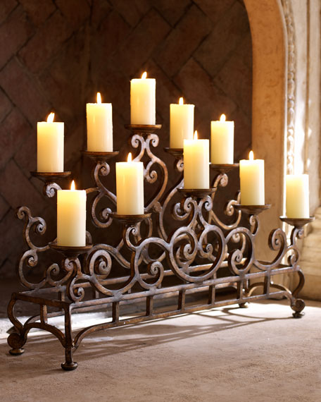 fireplace candle holder ambella fireplace candelabrum 29716