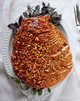 Bourbon Pecan Praline Ham