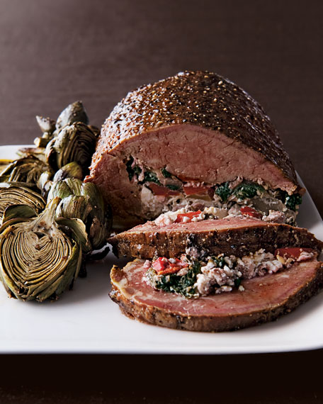 5-lb. Stuffed Beef Tenderloin, For 10-12 People