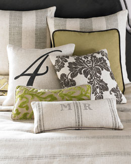 Spring Garden Pillows & Throw