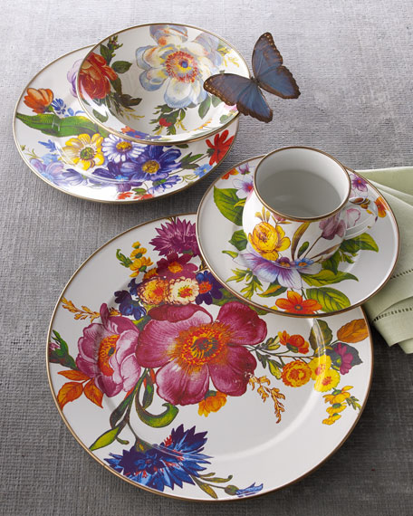 Each Flower Market Dinner Plate