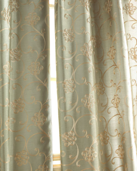 "Each Paris Curtain, 55""W x 96""L"