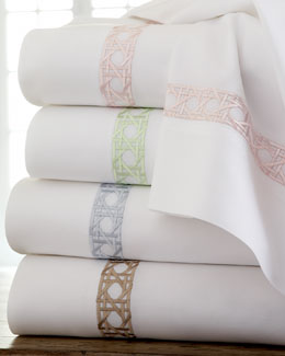 "SFERRA Marcus Collection ""Cane"" Sheet Sets"