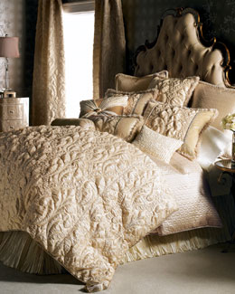 "Dian Austin Couture Home ""Neutral Modern"" Bed Linens"