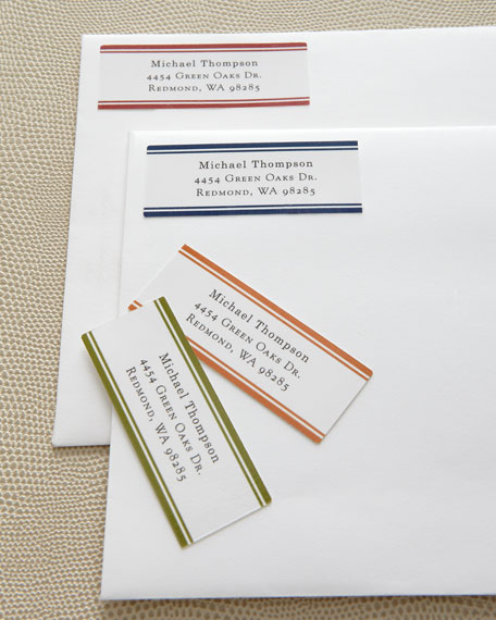 Six B Labels 480 Border Address Labels