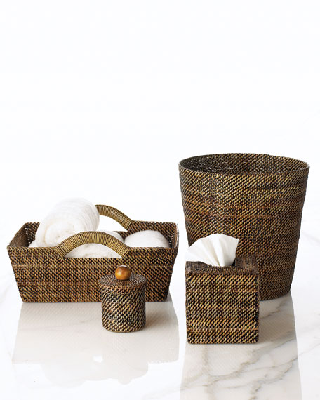 Woven Round Container