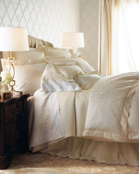 ivory duvet cover twin jacquard scroll pattern king linen size