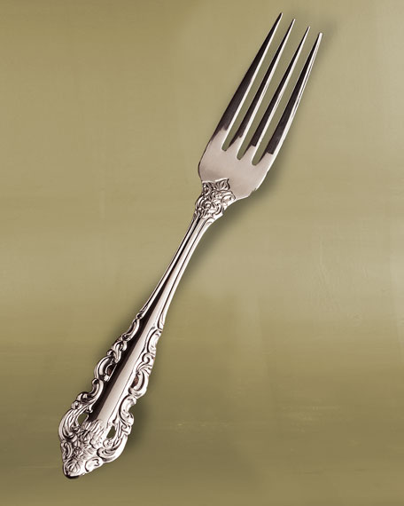 65-Piece Antique Baroque Flatware