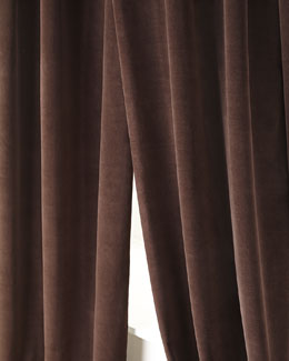 """Gibson"" Lined Velvet Curtains"