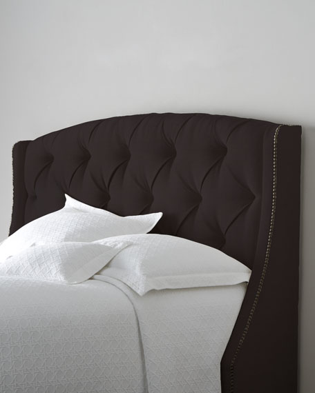 Rami Wing Twin Tufted Headboard